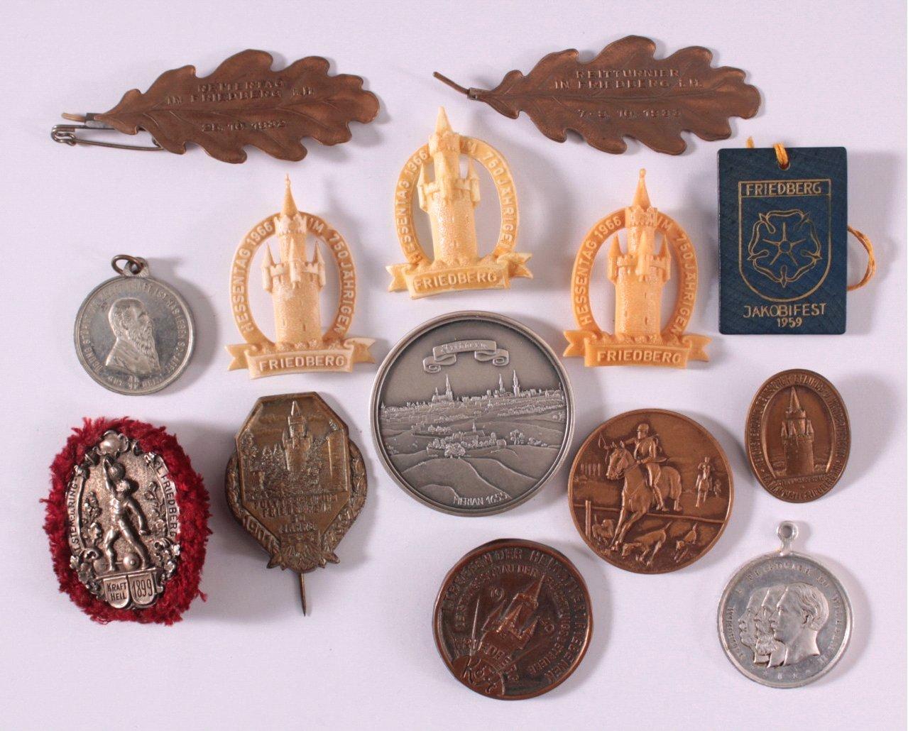 Veranstaltungsabzeichen und -Medaillen Friedberg