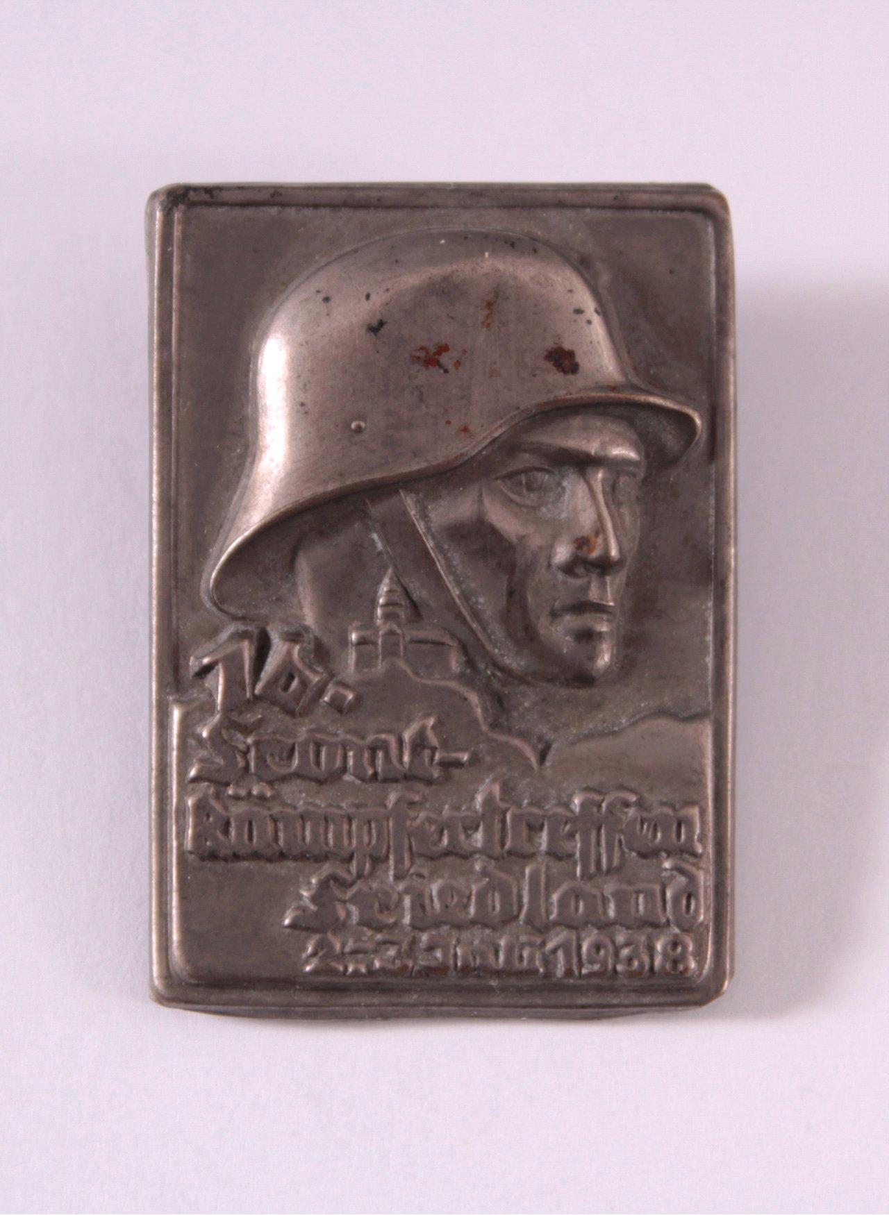 Abzeichen 16. Frontkämpfertreffen Friedland 1938