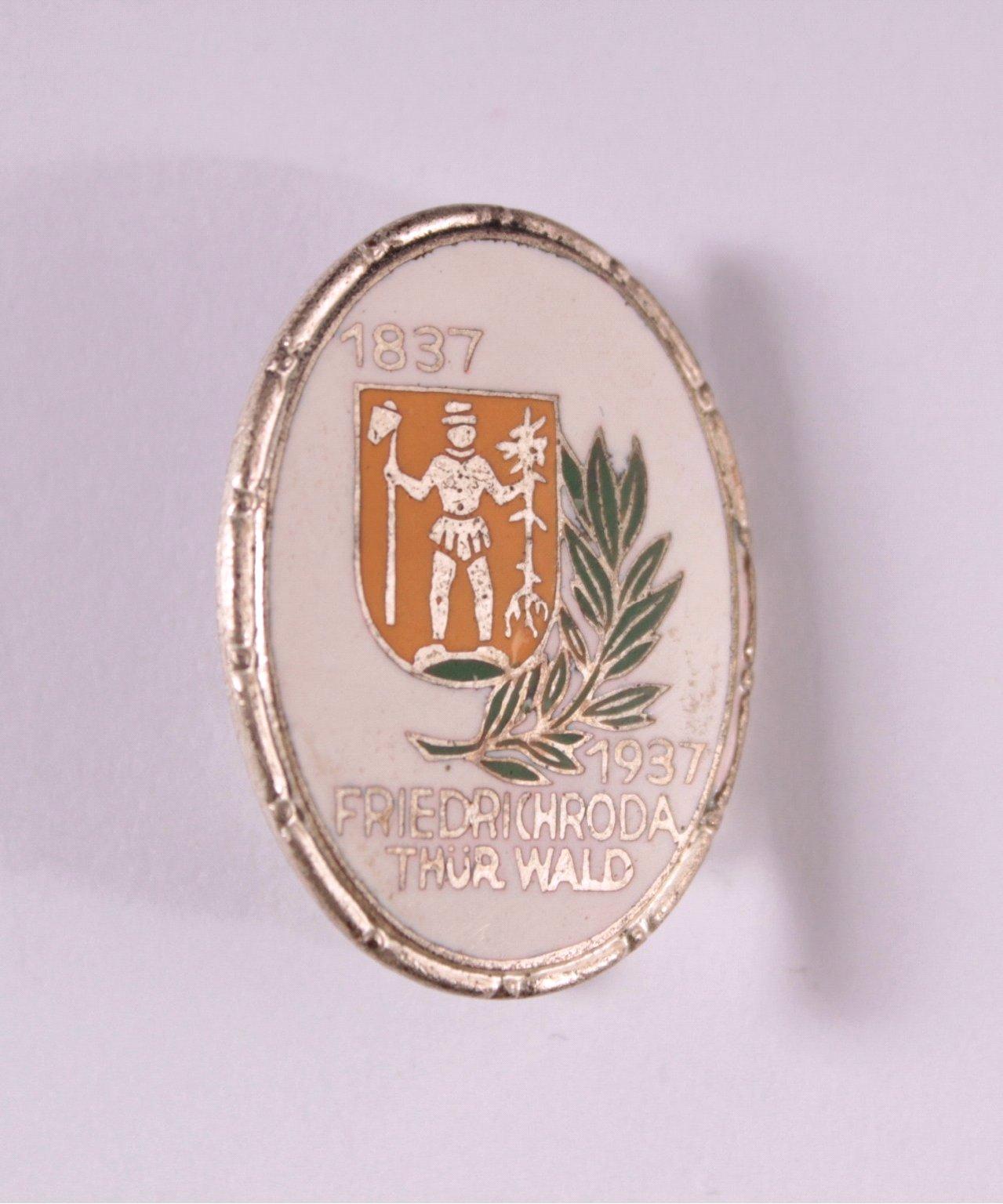 100 Jahre Friedrichroda 1837-1937