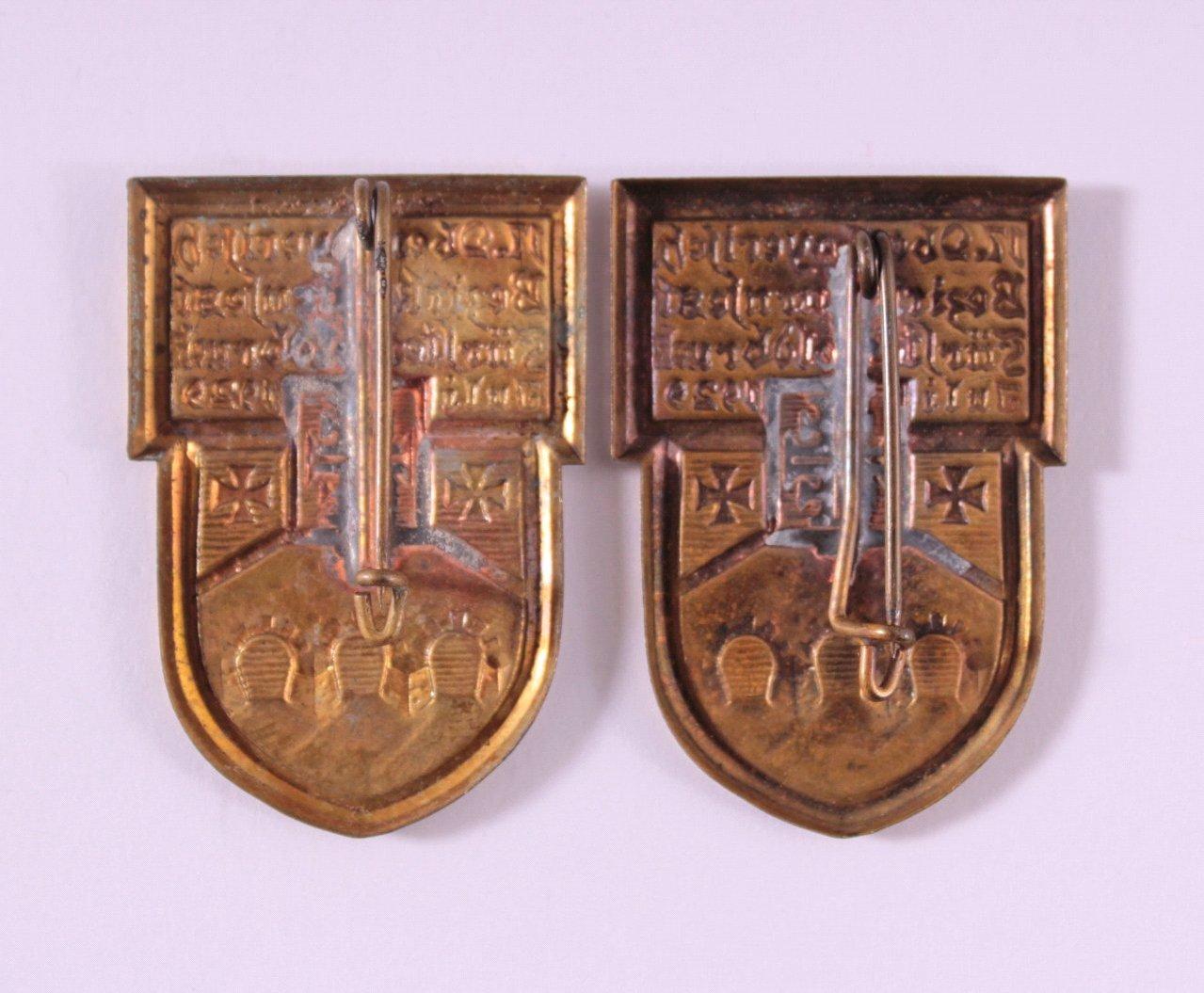 2 Abzeichen 17. Oberbayerisches Bezirksturnfest 1929-1