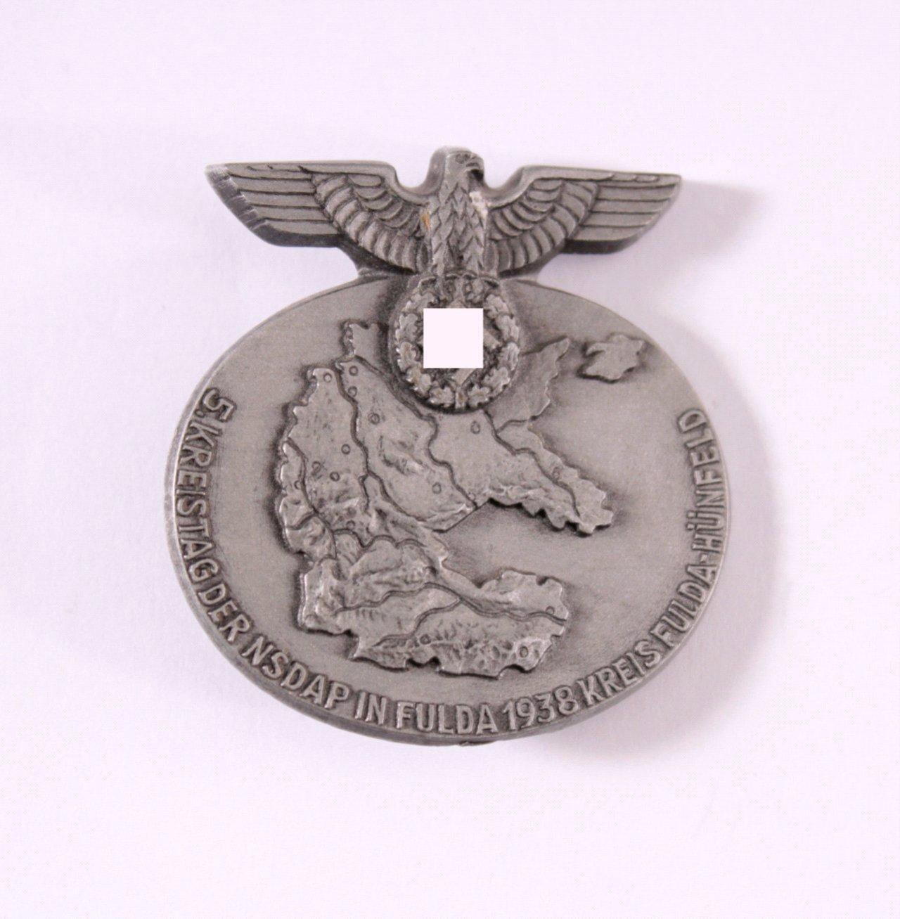 Abzeichen 5 Kreisparteitag der NSDAP. Kreis Fulda 1938