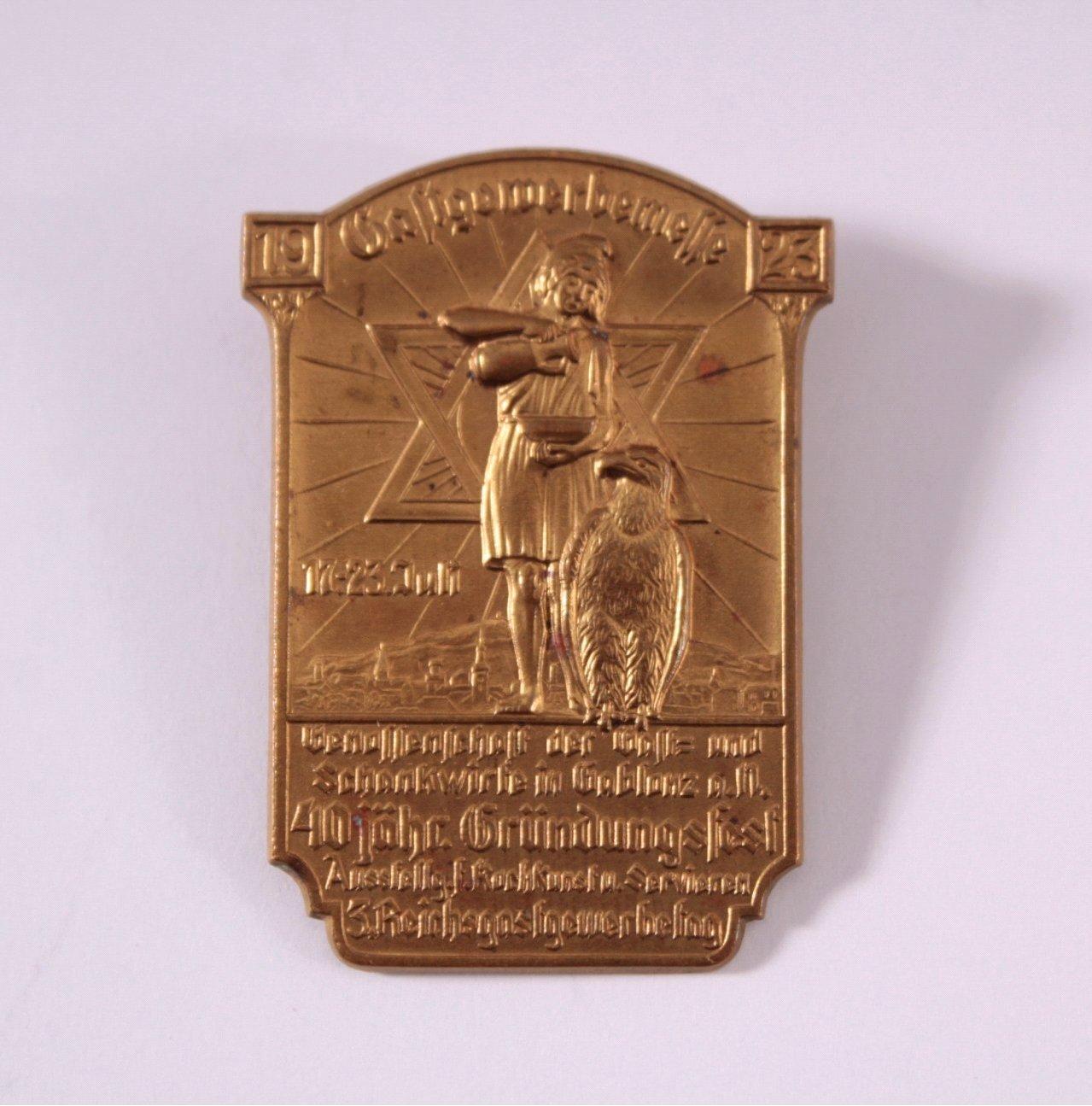 Gastgewerbemesse Gablonz 1923