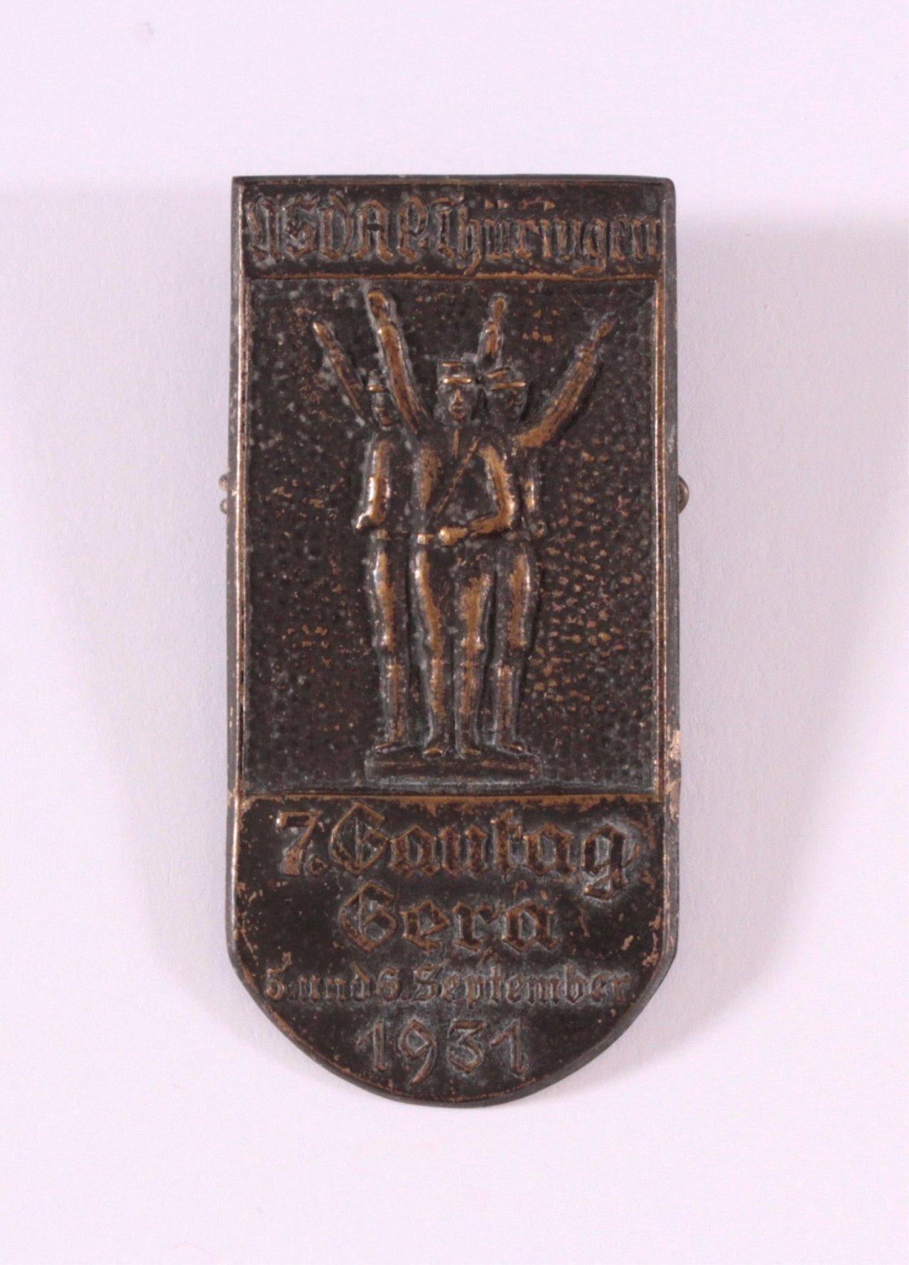 NSDAP Gau Thüringen, 7. Gautag Gera 1931
