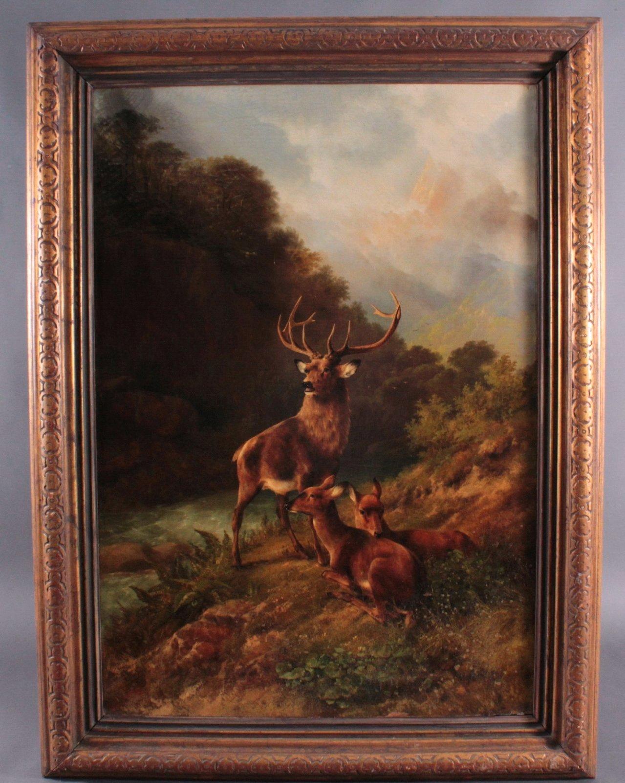 August Knip (1819 – um 1859/60). Landschafts- und Tiermaler