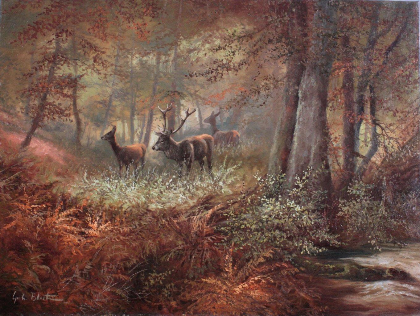 Gerhard Bluhm (*1924). Landschafts- und Tiermaler