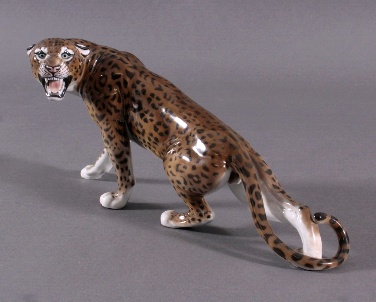 """Rosenthal Tierplastik, """"Gepard"""""""