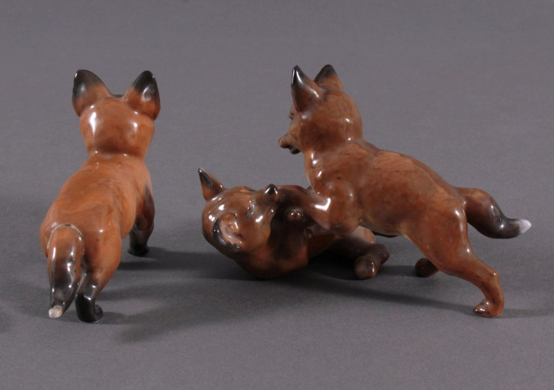 "Rosenthal Tierplastiken, ""Fuchs""-1"