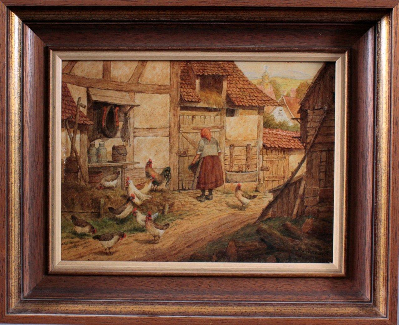 Karl Luckhardt (1886-1970). Genre und Tiermaler