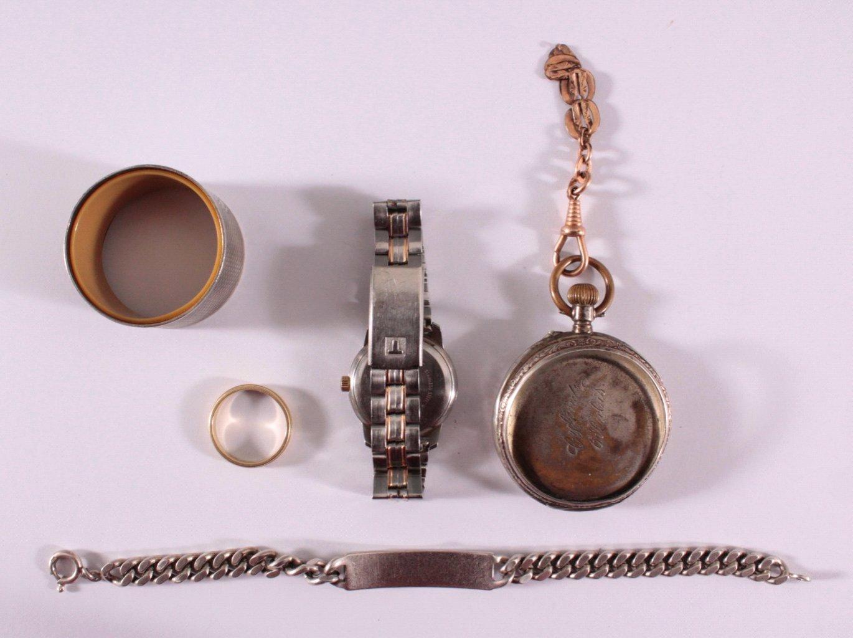 Schmuck Konvolut, GG 585 und Silber-1