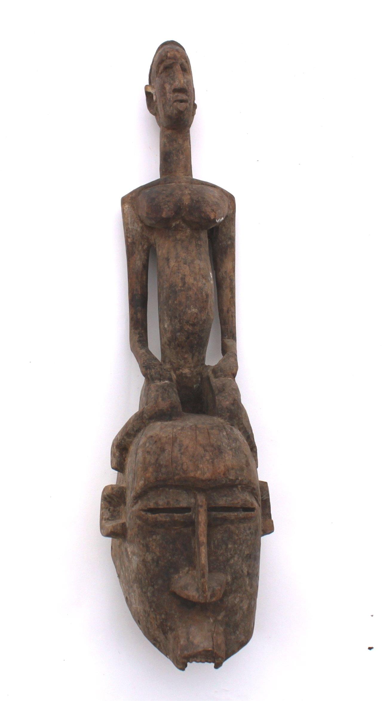 Afrikanische Ritual/Tanzmaske, Dogon 1. Hälfte 20. Jh.,
