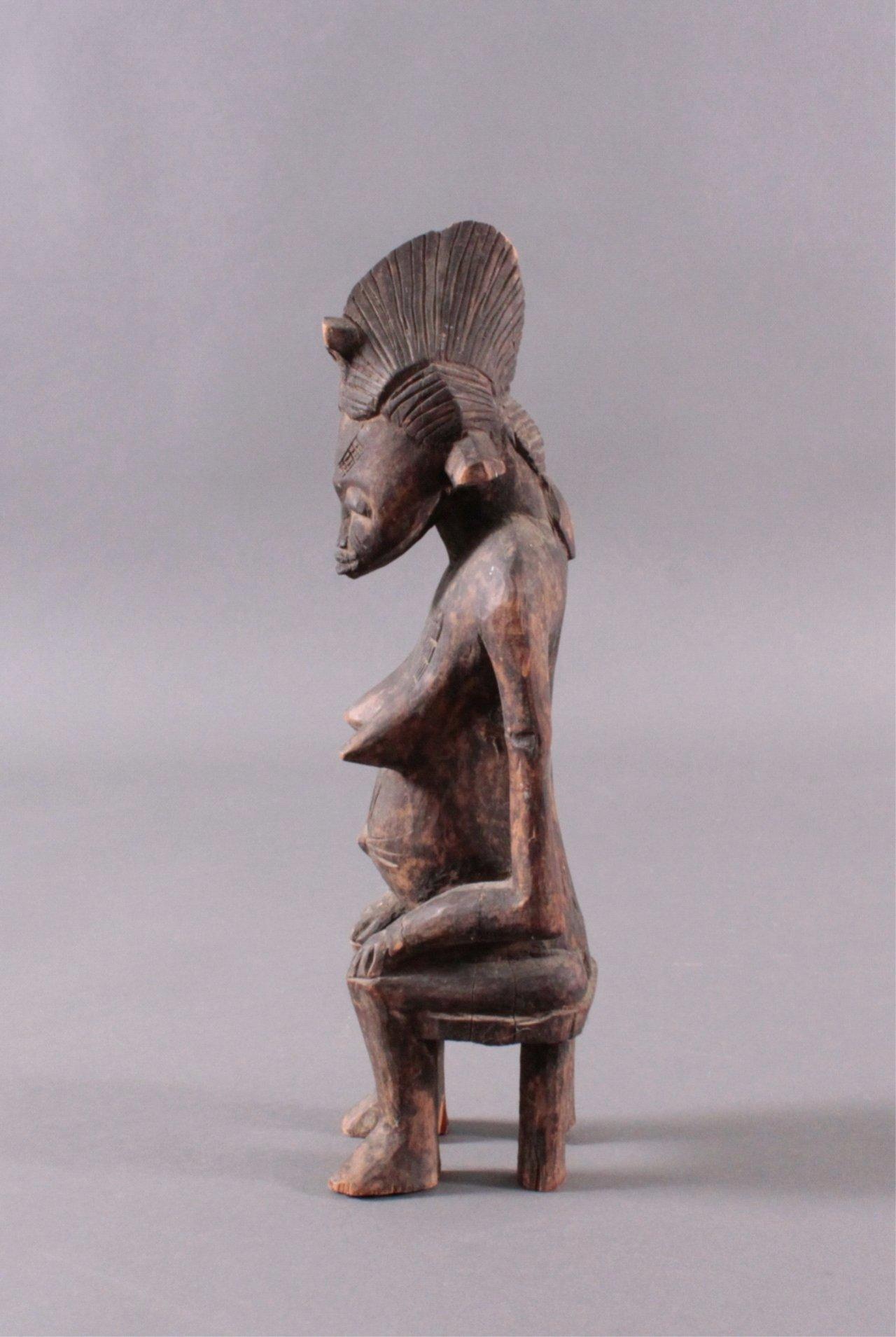 Afrikanische Figur, Senufo 1. Hälfte 20. Jh.,-3
