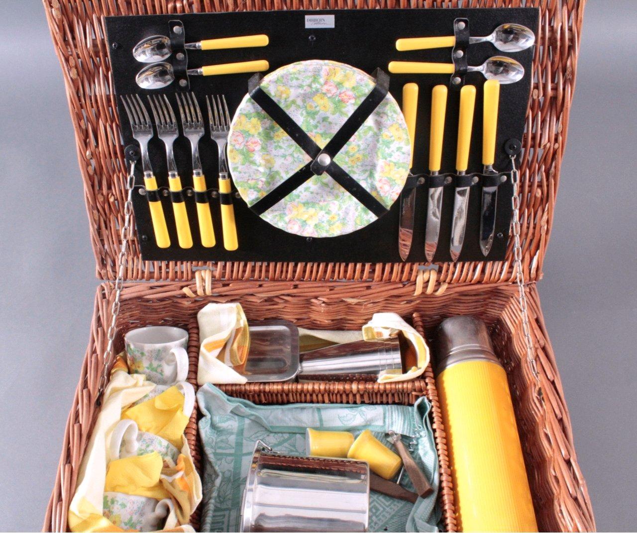 Picknickkorb für 4 Personen-1