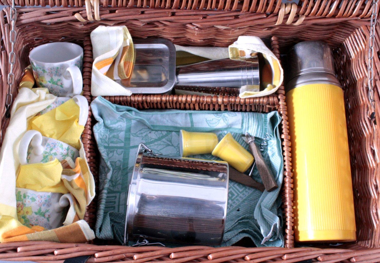 Picknickkorb für 4 Personen-2