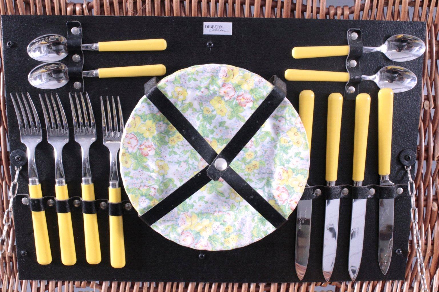 Picknickkorb für 4 Personen-3