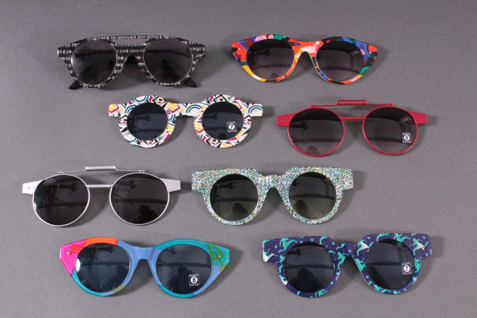 Sammlung Swatch Brillen aus den 90er Jahren