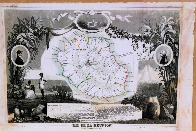 Zwei Landkarten