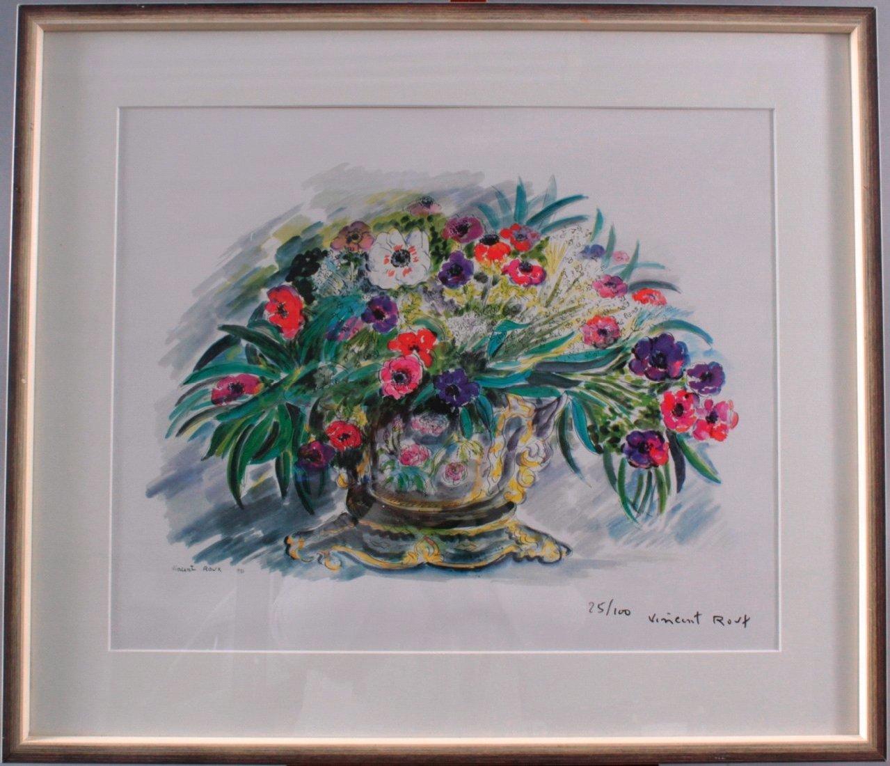 Vincent Roux 1928-1991, Blumenstilleben-1