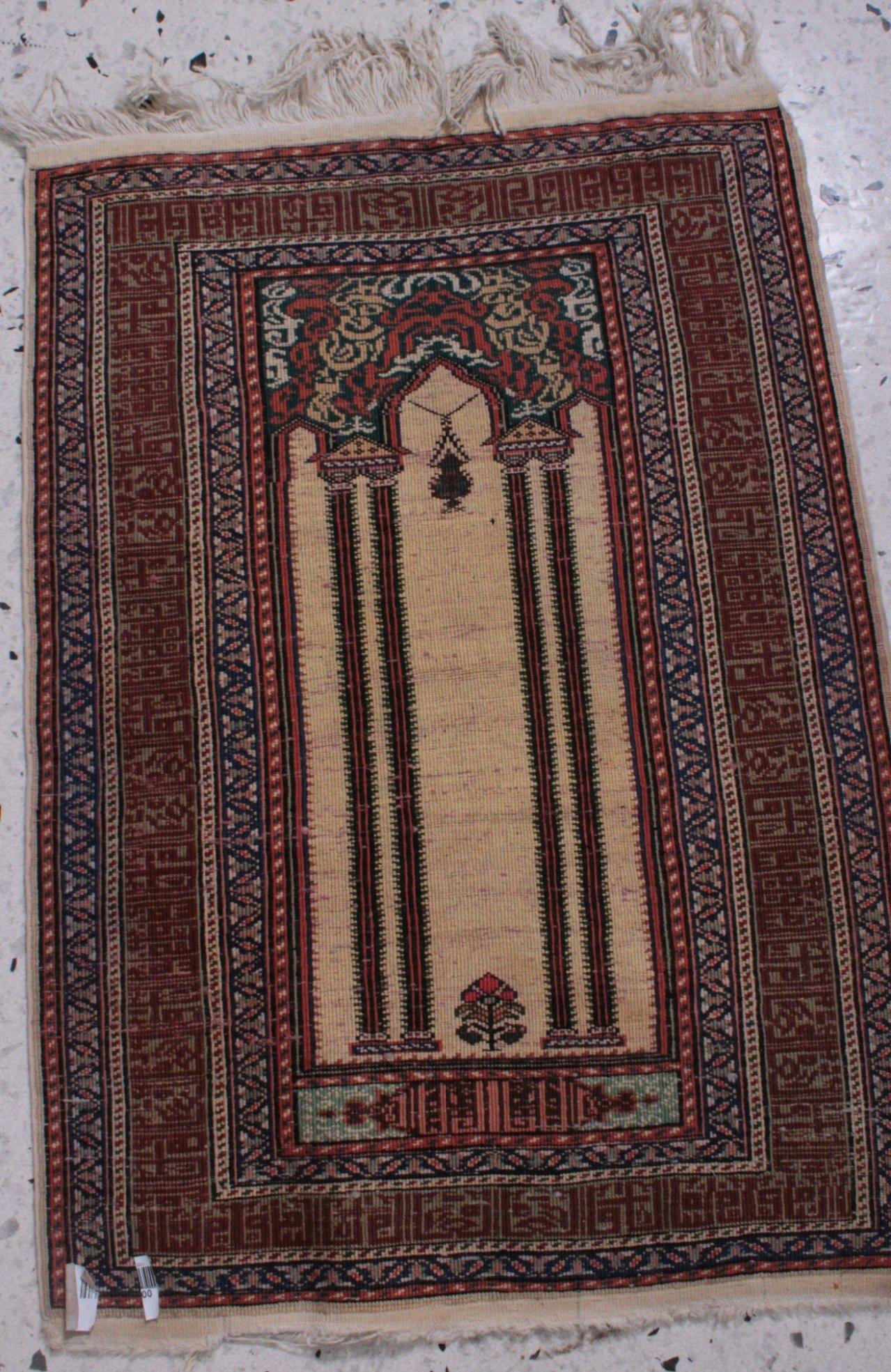 Orientteppich, Seide, 20. Jahrhundert-1