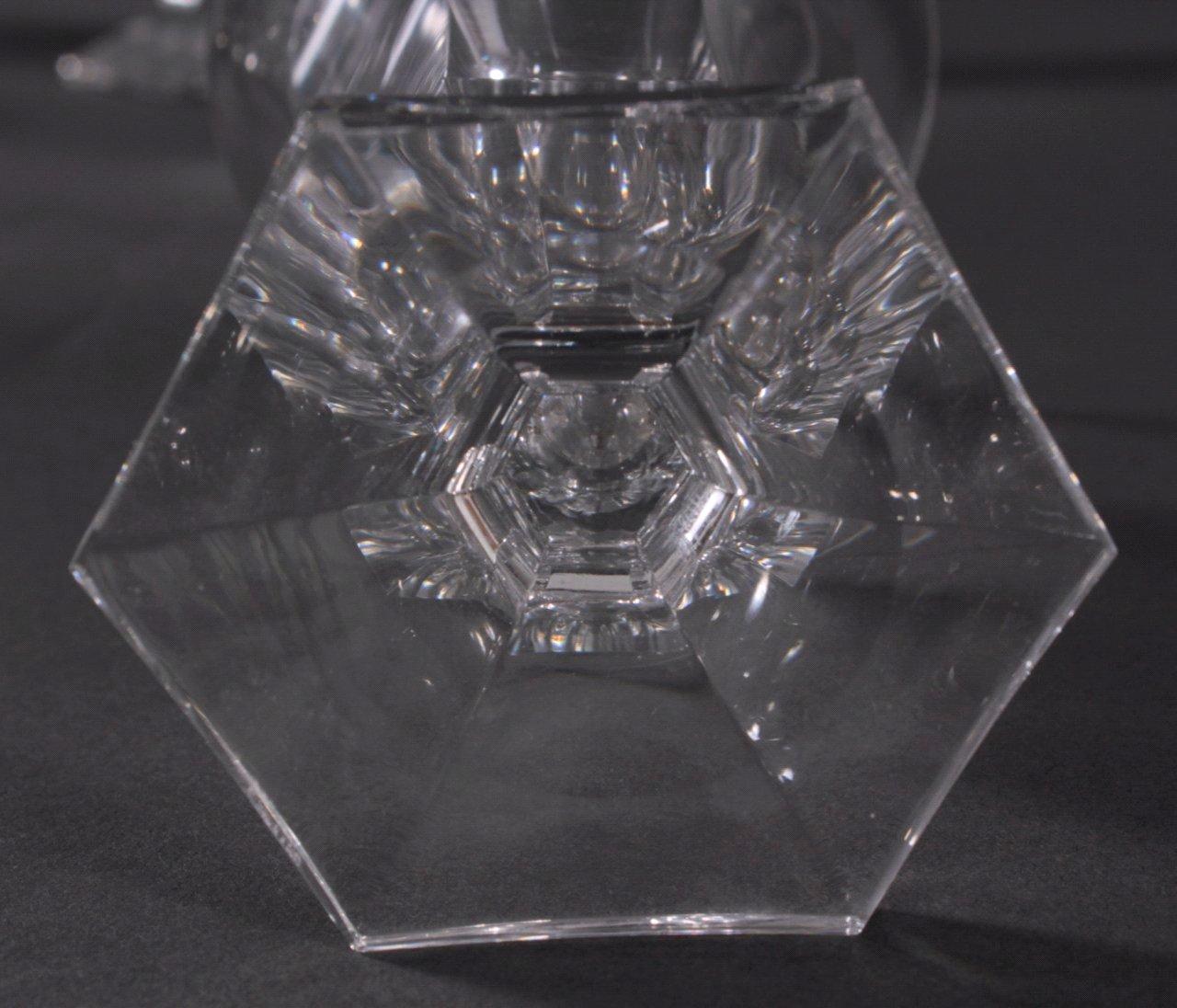 Konvolut Gläser, Saar Cristall