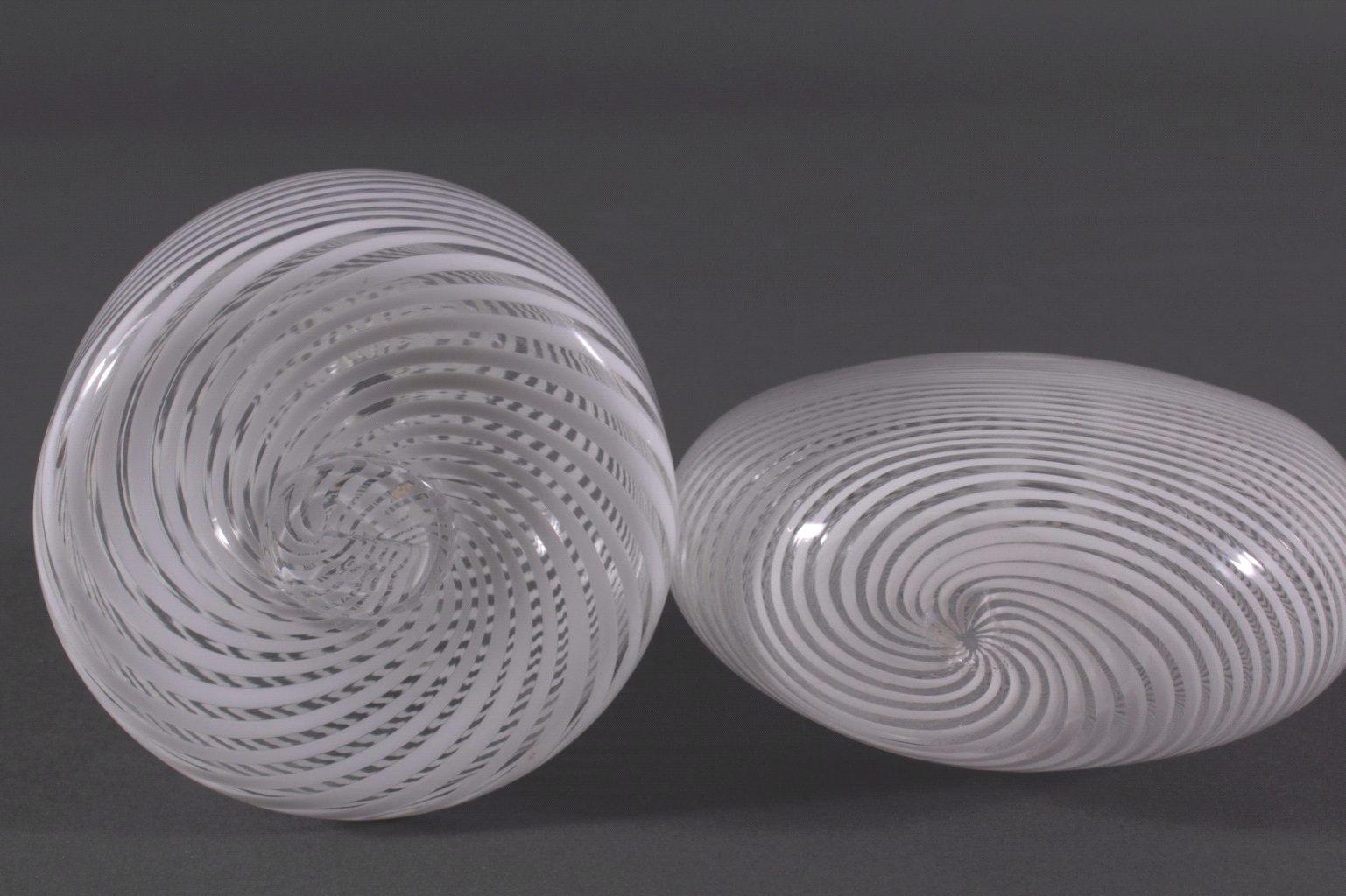 Konvolut Glasobjekte, Künstler Glas, 2. Hälfte 20. Jh.-2