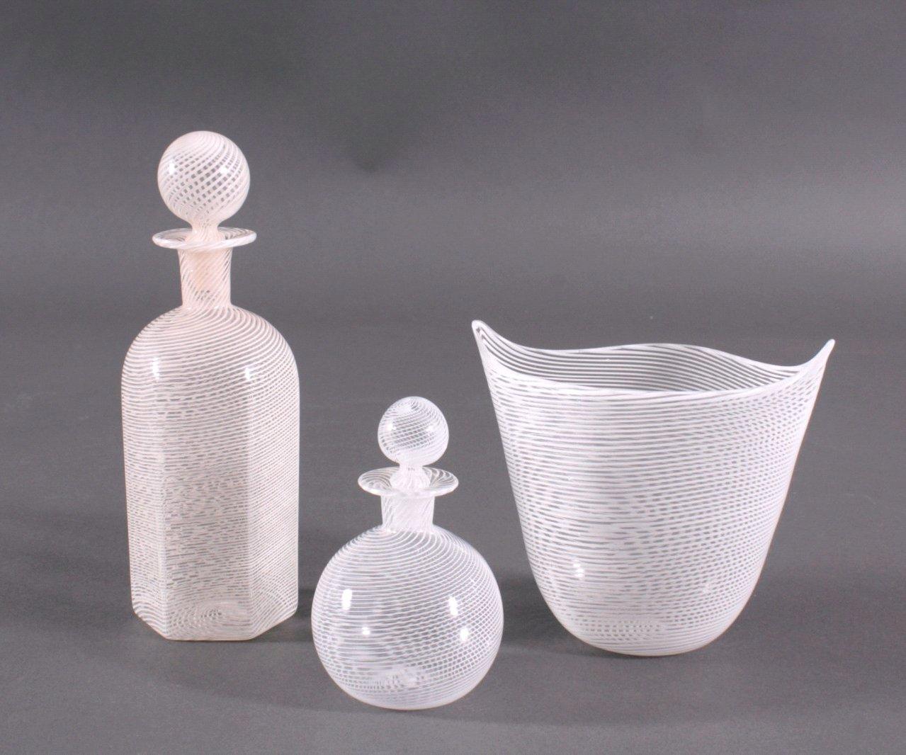 Drei Glas-Objekte, Italien