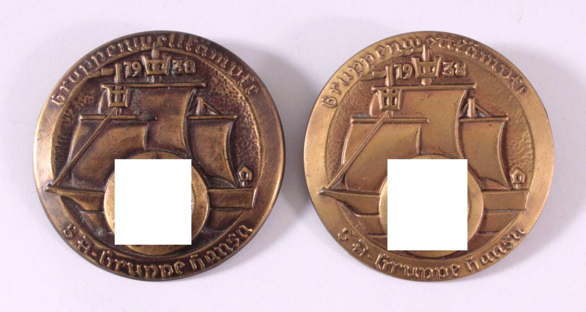 2 Abzeichen SA Gruppe Hansa, Gruppenwettkämpfe 1938