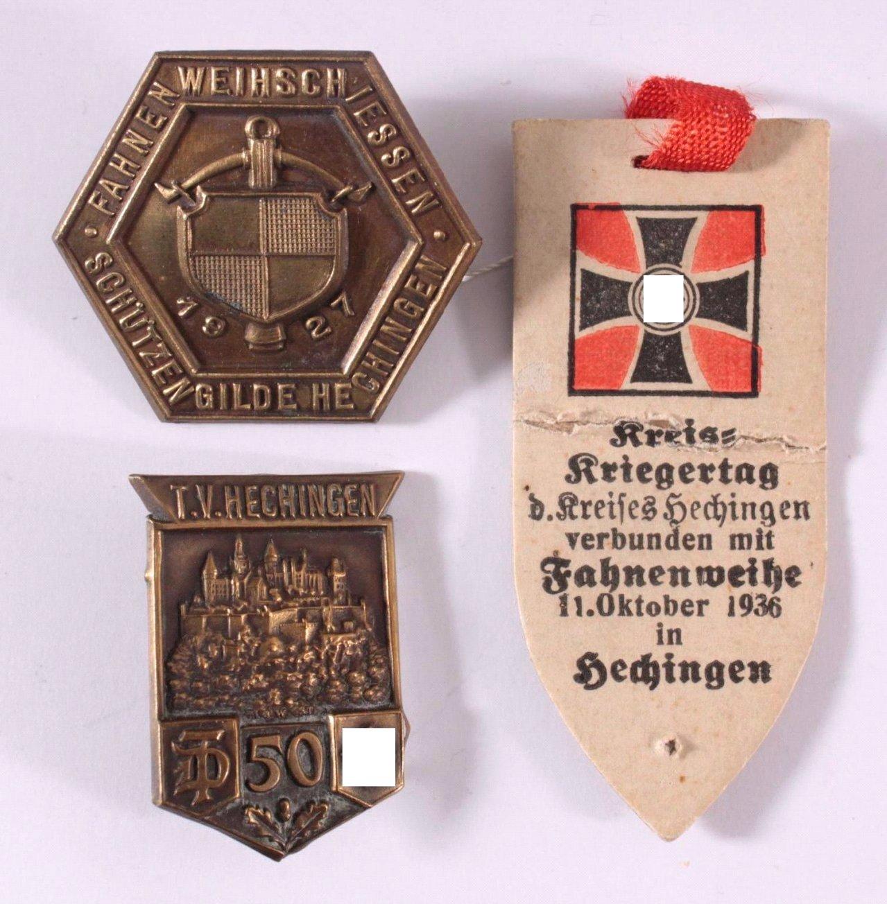 Tagungs- und Verantstaltungsabzeichen Hechingen