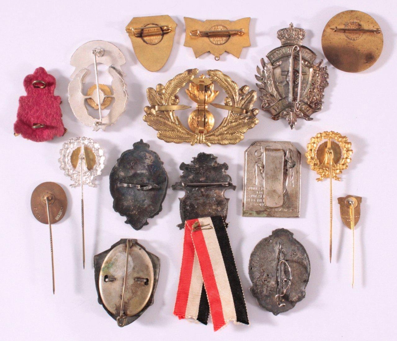 Abzeichen Deutscher Artillerie Vereine um 1900-1