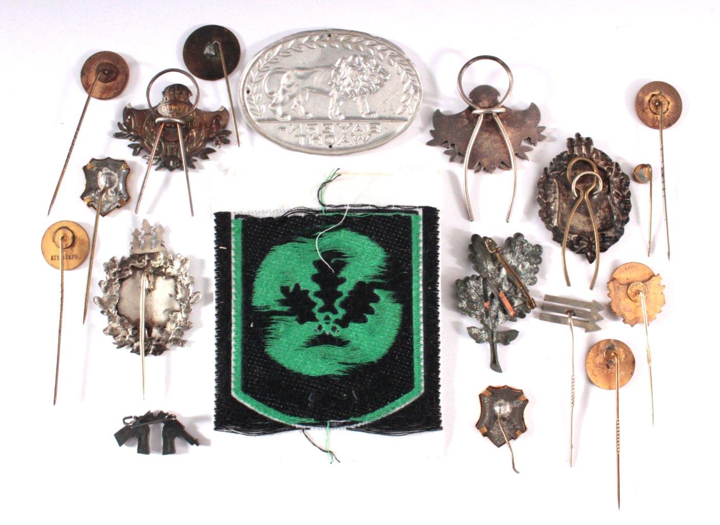Abzeichen Deutscher Bürger Vereine um 1900