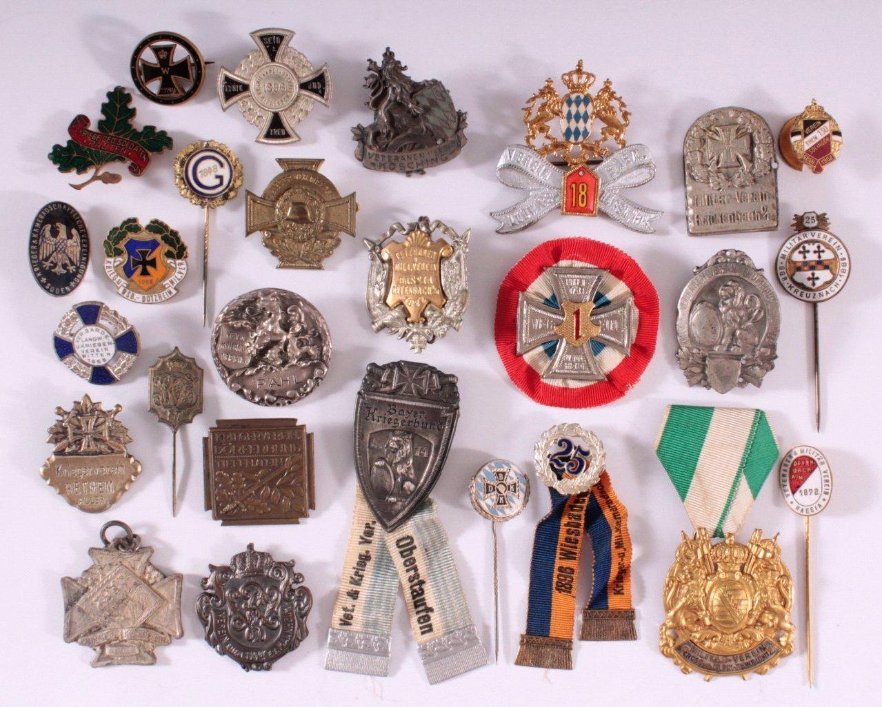 Abzeichen Deutscher Landwehr Vereine um 1900