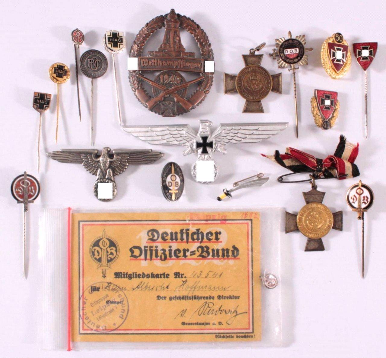 Abzeichen Deutscher Offiziers Vereine um 1900