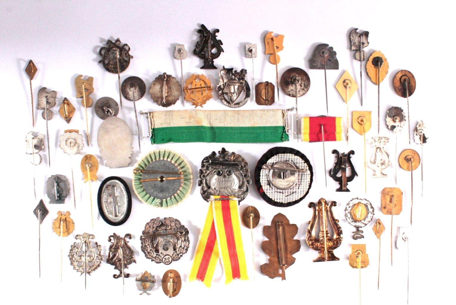 Abzeichen Deutscher Gesangs Vereine um 1900-1