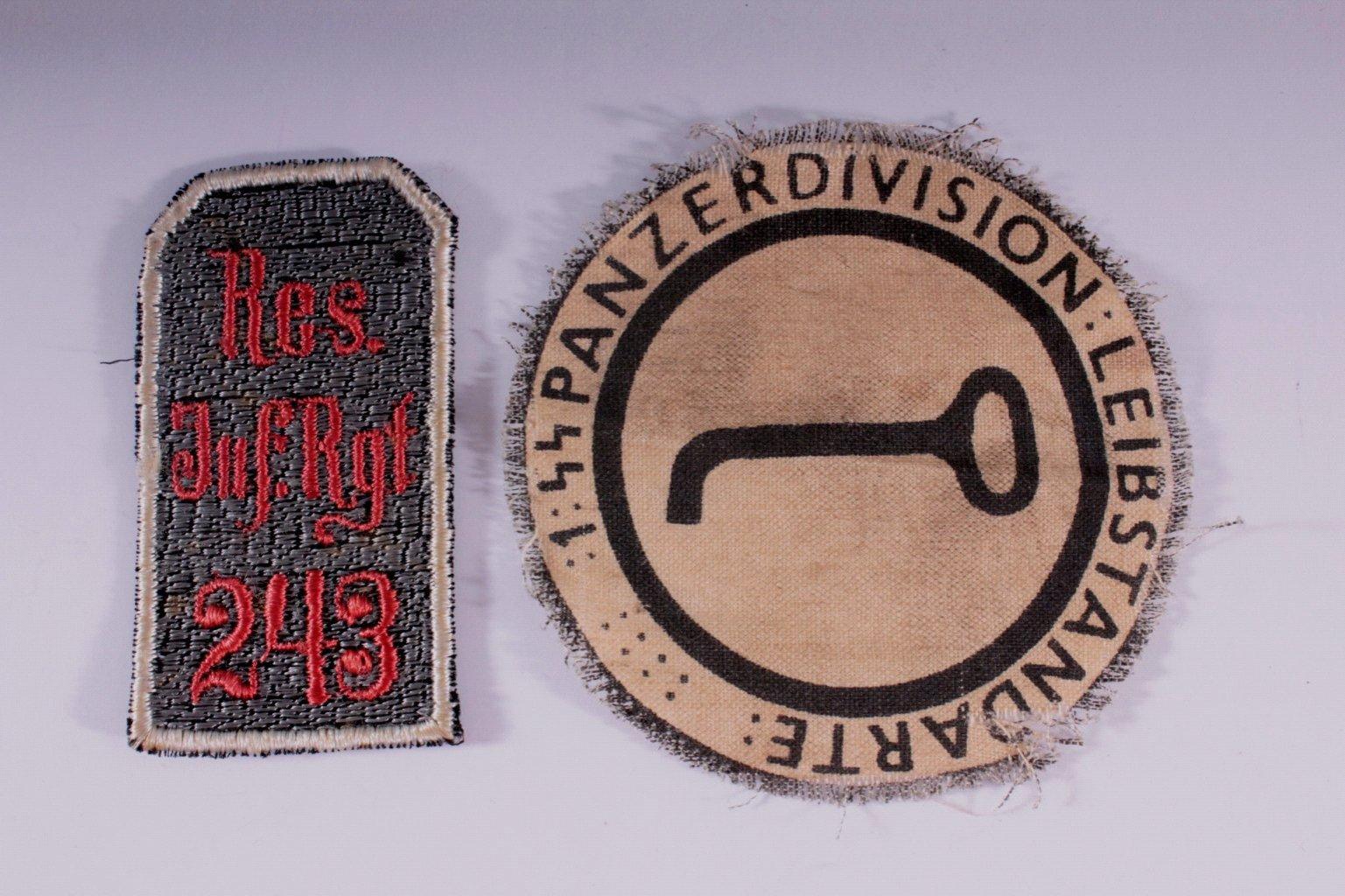 Deutsches Reich, 2 Stoffabzeichen