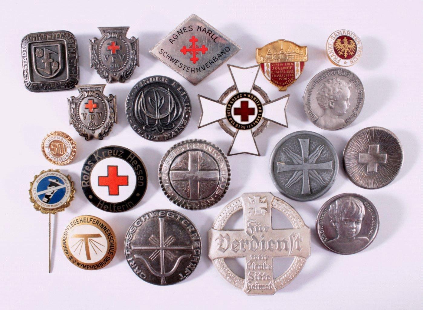 Abzeichen Deutscher Schwesternschaft um 1900