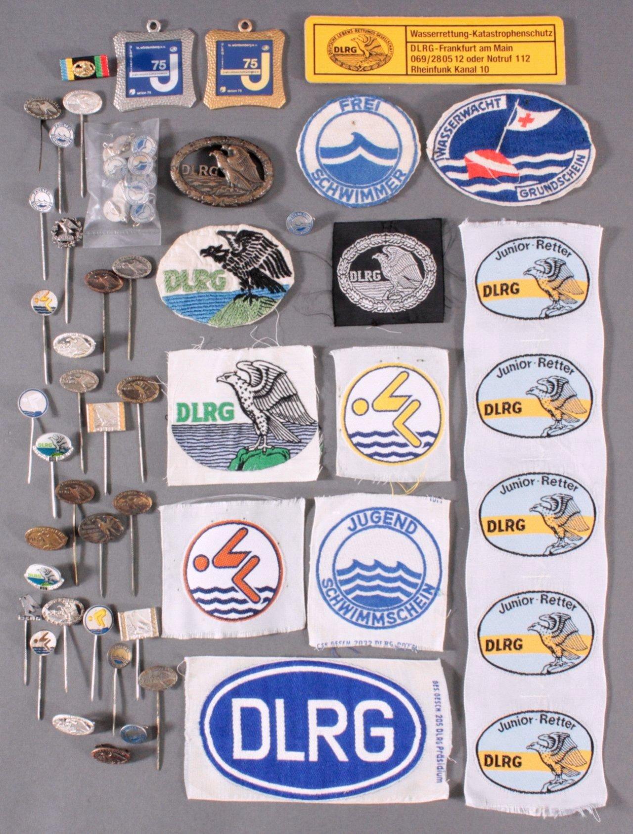 Abzeichen des DLRG um 1900 bis heute