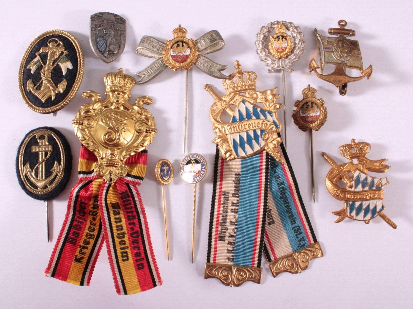 Abzeichen Deutscher Kriegs Vereine um 1900