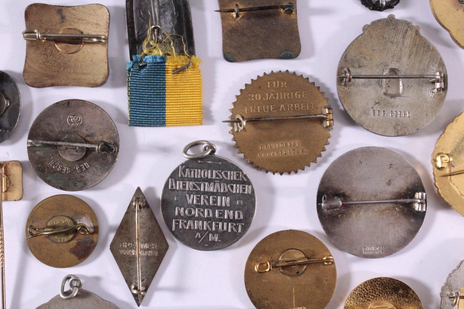Abzeichen Deutscher Frauen Vereine um 1900-2