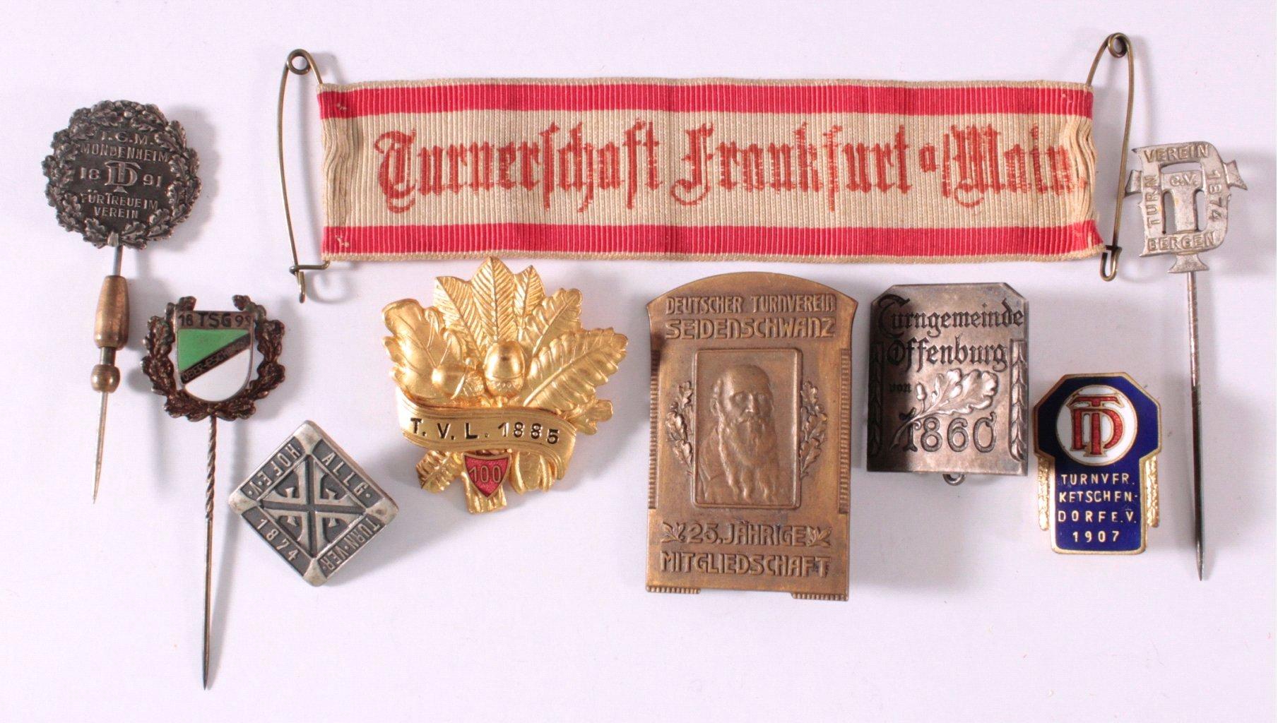 Abzeichen Deutscher Turn Vereine um 1900