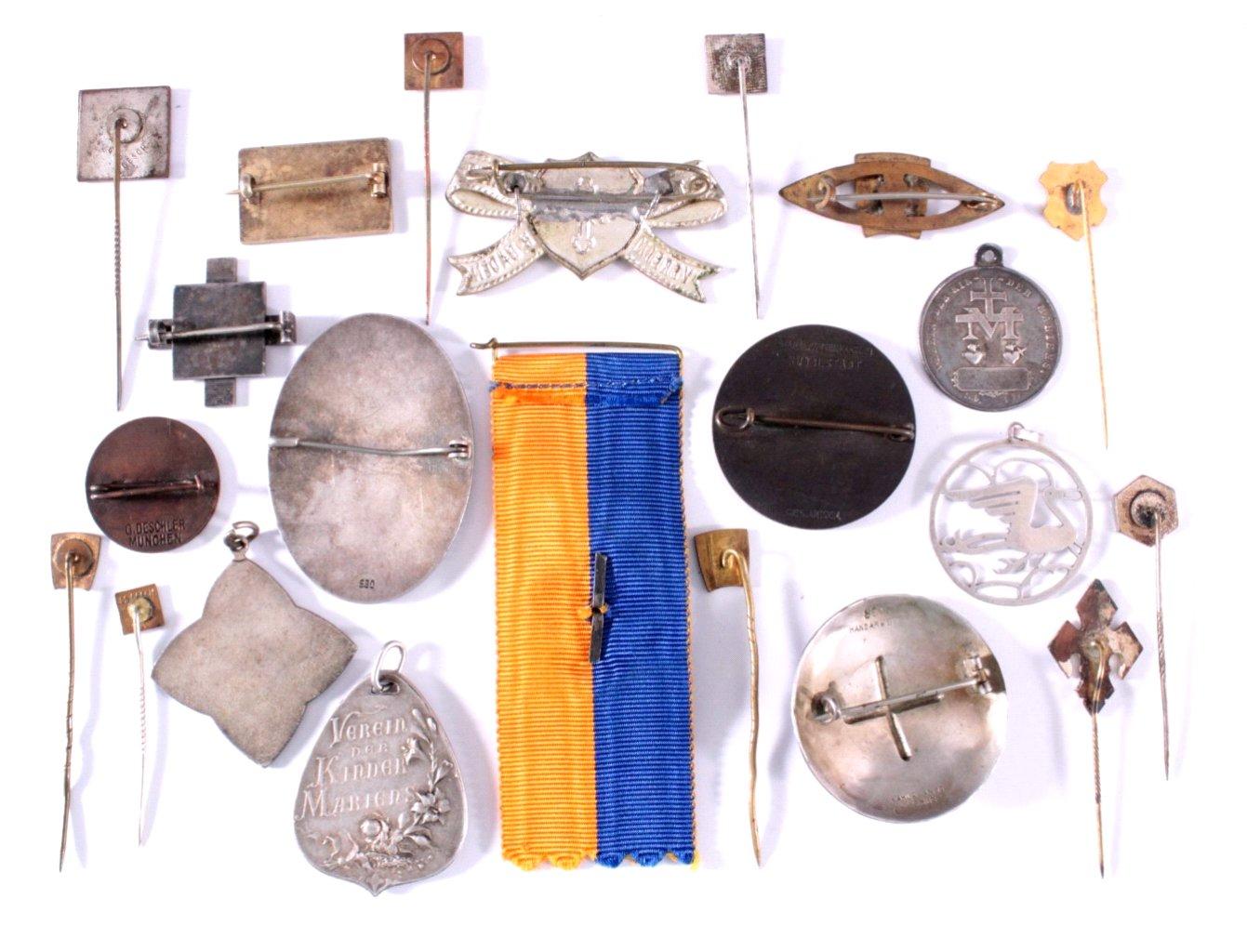 Abzeichen Deutscher  Vereine um 1900-1