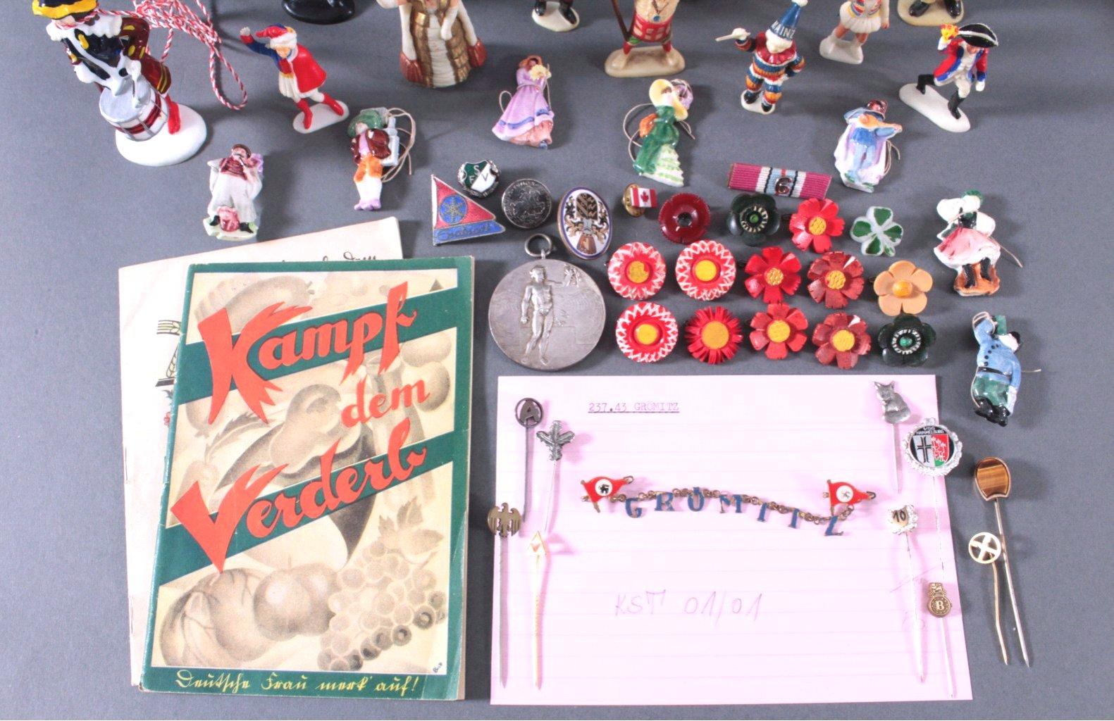 Konvolut Deutsches Reich, WHW Pappschachtel und Pralinenbox-2