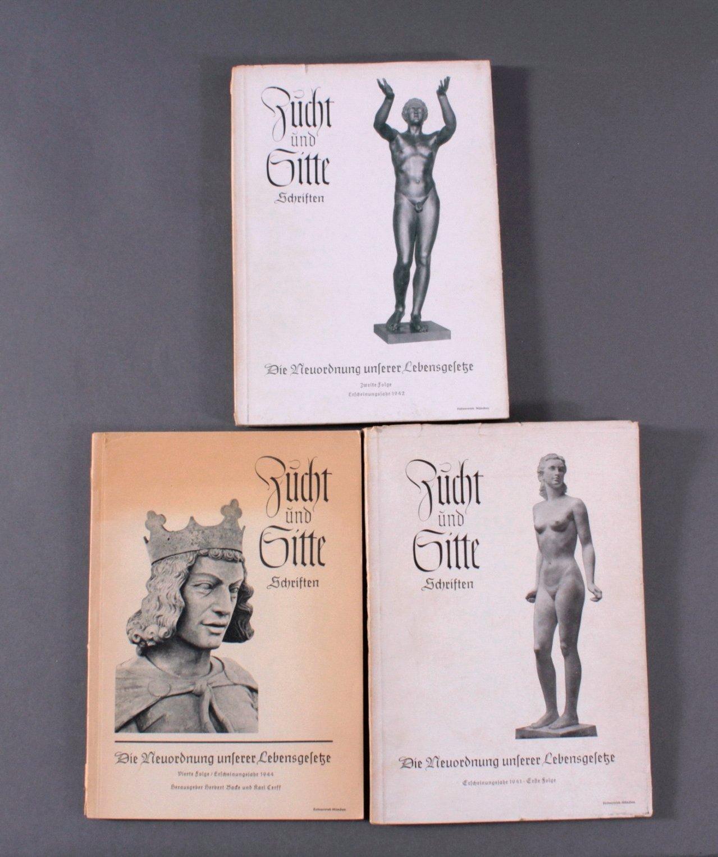 Drittes Reich Propaganda, Zucht und Sitte Schriften