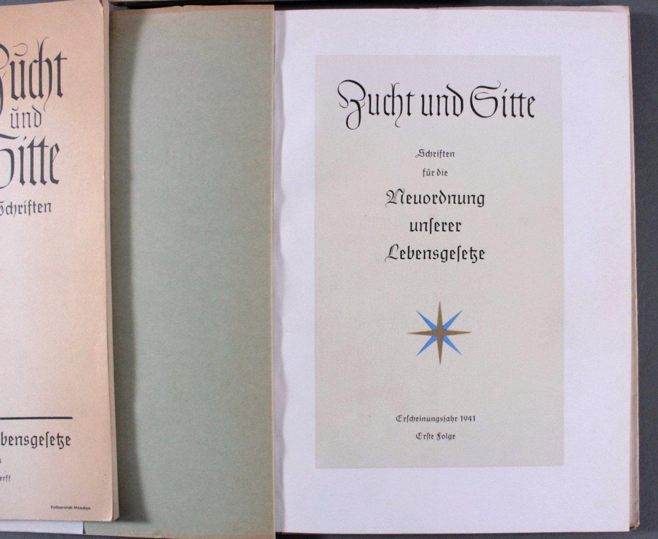 Drittes Reich Propaganda, Zucht und Sitte Schriften-1
