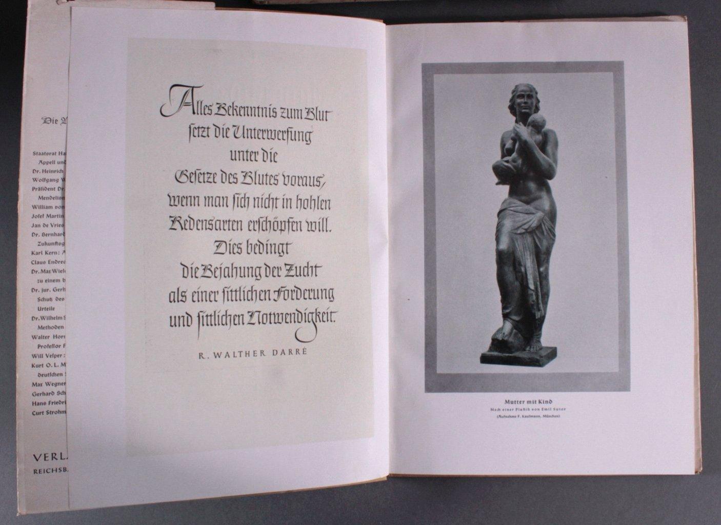 Drittes Reich Propaganda, Zucht und Sitte Schriften-2