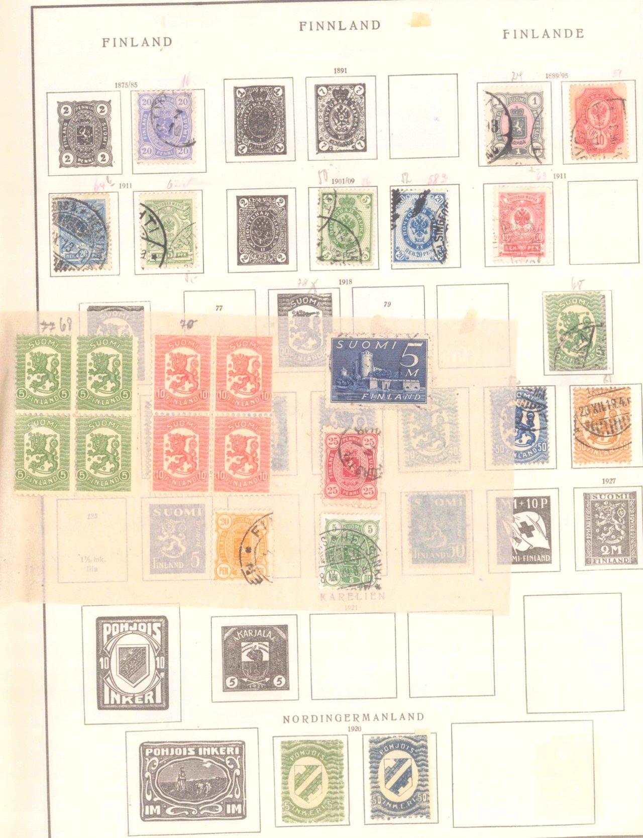 Schwaneberger Briefmarken Album