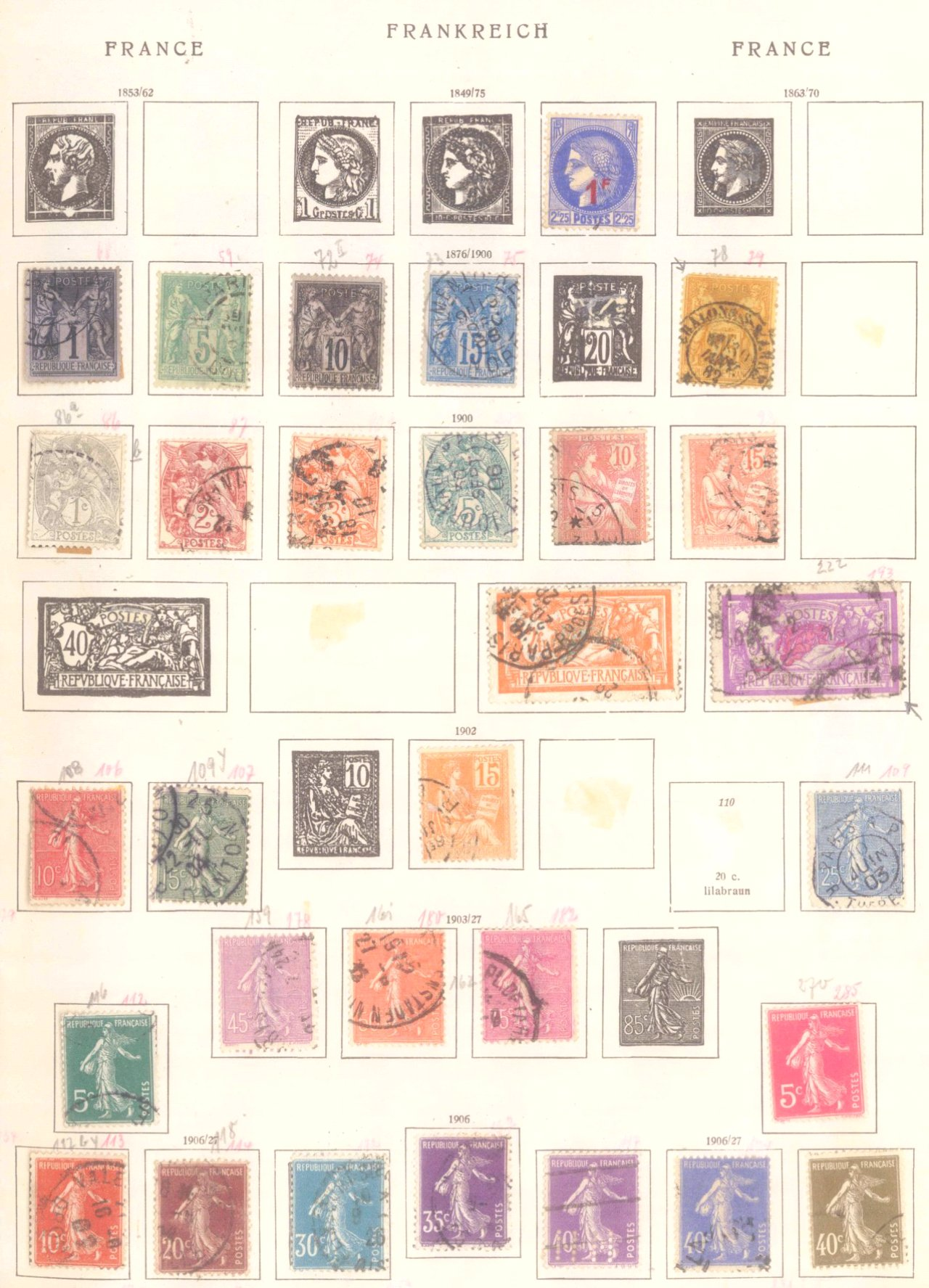 Schwaneberger Briefmarken Album