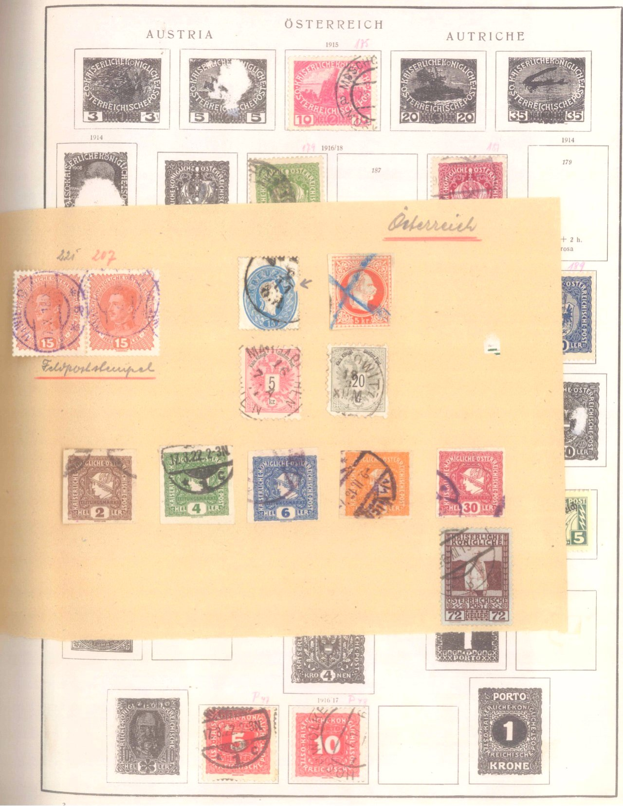 Schwaneberger Briefmarken Album-2