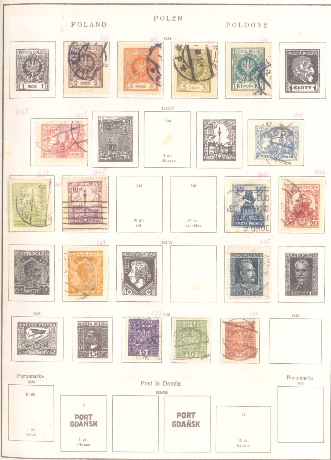 Schwaneberger Briefmarken Album-3