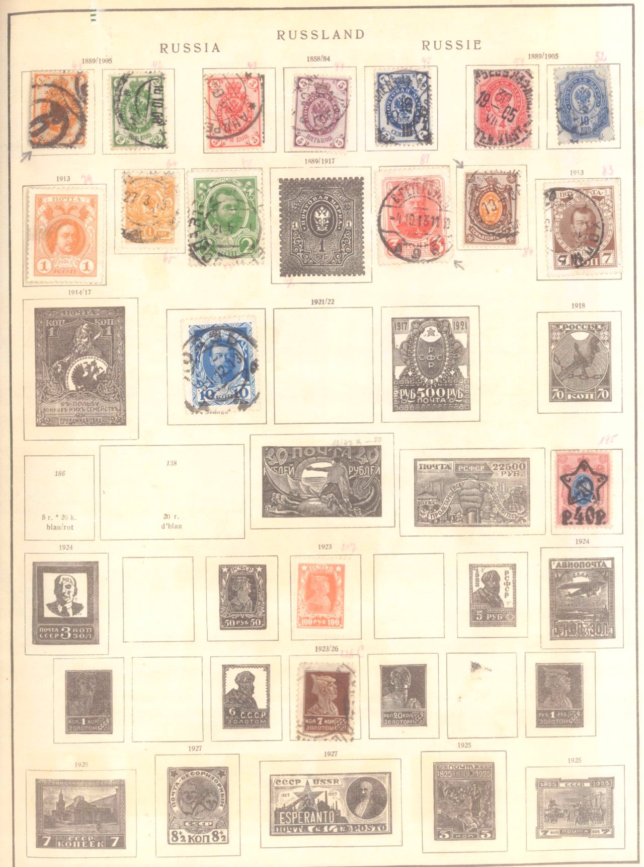 Schwaneberger Briefmarken Album-4