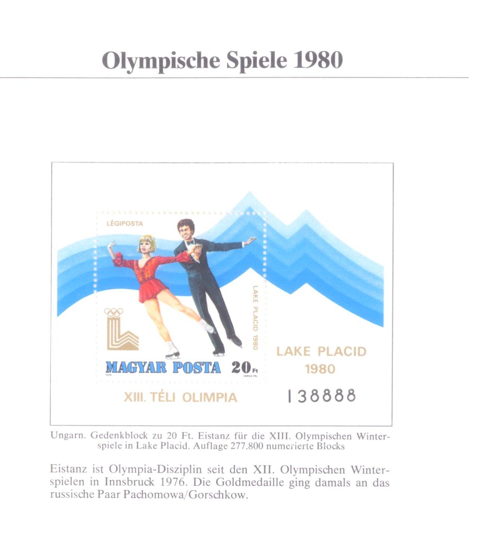 3 Alben Olympische Spiele 1980 in Moskau / Lake Placid-2