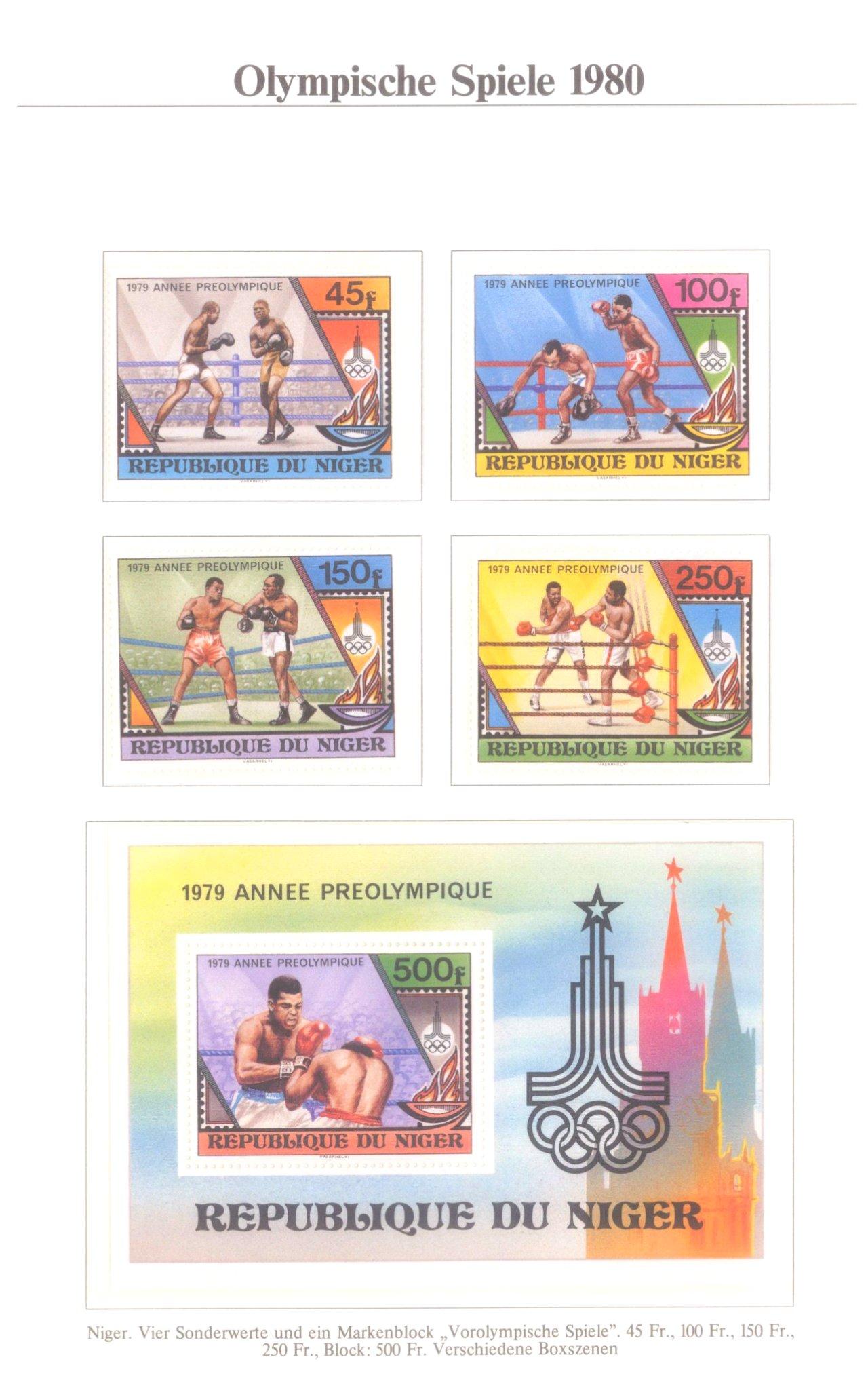 3 Alben Olympische Spiele 1980 in Moskau / Lake Placid-6